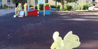 Новоалександровская ул., д.62 окраска детского оборудования
